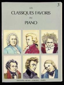 CLASSIQUES FAVORIS DU PIANO VOL 3