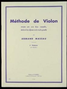 MASSAU A. METHODE DE VIOLON VOL 1