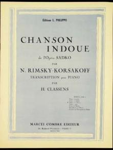 RIMSKY-KORSAKOV N. CHANSON INDOUE VIOLON