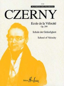 CZERNY K. ECOLE DE LA VELOCITE OP 299 PIANO