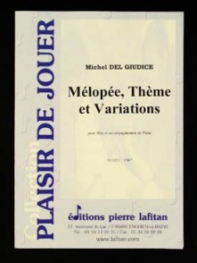 DELGIUDICE M. MELOPEE THEME VARIATIONS FLUTE