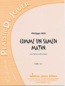 RIO P. COMME UN SAMEDI MATIN CLARINETTE