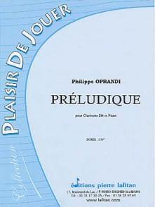 OPRANDI P. PRELUDIQUE CLARINETTE