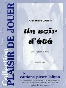CARLIN A. UN SOIR D'ETE FLUTE