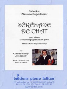 JOUBERT C.H. SERENADE DU CHAT VIOLON