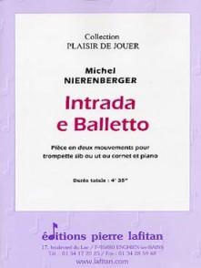 NIERENBERGER M. INTRADA E BALLETTO TROMPETTE
