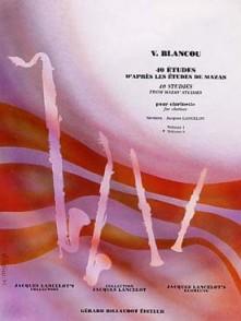 BLANCOU V. 40 ETUDES VOL 2 CLARINETTE