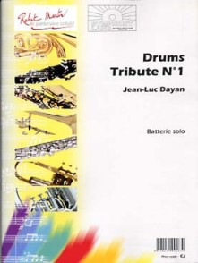 DAYAN J.L. DRUMS TRIBUTE N°1 BATTERIE SOLO