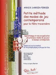 SARRIEN-PERRIER A. PETITE METHODE DES MODES DE JEU FLUTE