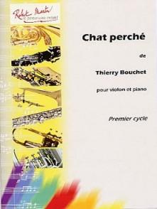 BOUCHET T. CHAT PERCHE VIOLON