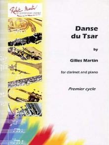 MARTIN G. DANSE DU TSAR CLARINETTE