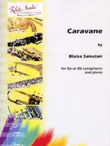 SAINCLAIR B. CARAVANE SAXOPHONE
