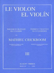 CRICKBOOM M. LE VIOLON VOL III