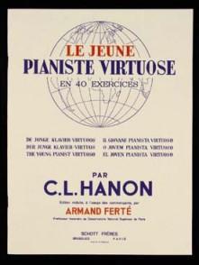 HANON LE JEUNE PIANISTE VIRTUOSE