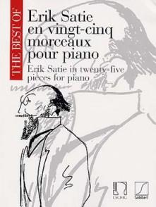 SATIE E. 25 MORCEAUX PIANO