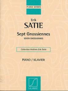 SATIE E. 7 GNOSSIENNES PIANO