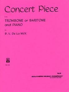 DE LA NUX P.V. CONCERT PIECE TROMBONE