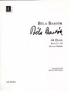 BARTOK B. 44 DUOS VOL 1 VIOLONS