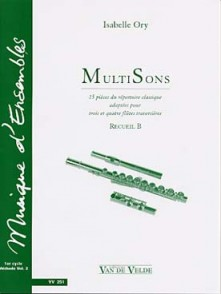ORY I. MULTISONS VOL B FLUTES