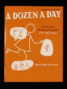 BURNAM E.M. A DOZEN A DAY VOL 4 PIANO