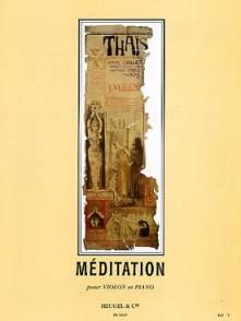 MASSENET J. MEDITATION DE THAIS VIOLON