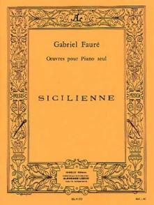 FAURE G. SICILIENNE OP 78 PIANO