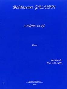 GALUPPI B. SONATE EN RE PIANO