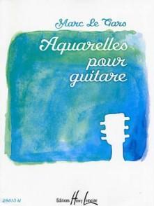 LE GARS M. AQUARELLES GUITARE