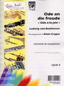 BEETHOVEN L.V. ODE A LA JOIE 8 SAXOPHONES
