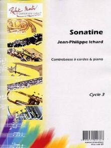 ICHARD J.P. SONATINE CONTREBASSE