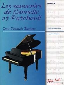 BASTEAU J.F. LES SOUVENIRS DE CANNELLE ET PATCHOULI PIANO