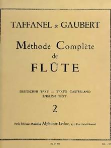 TAFFANEL/GAUBERT METHODE COMPLETE FLUTE VOL 2