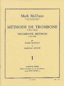 MC DUNN/RUSCH METHODE TROMBONE VOL 1