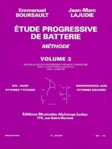 BOURSAULT E./LAJUDIE J.M. METHODE DE BATTERIE VOL 3