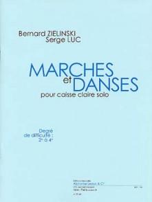 ZIELINSKI B./LUC S. MARCHES ET DANSES CAISSE CLAIRE SOLO