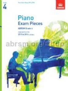 PIANO EXAM PIECES GRADE 4 SELECTED 2015 - 2016