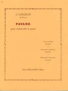 LIEGEOIS C. PAVANE OP 25 N°9 VIOLONCELLE