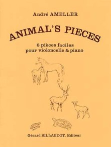 AMELLER A. ANIMAL'S PIECES VIOLONCELLE