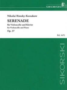 RIMSKY-KORSAKOV N. SERENADE OP 37 VIOLONCELLE