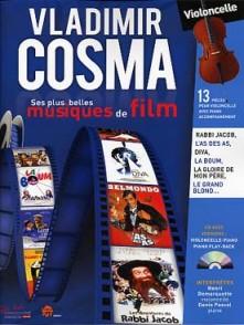 COSMA V. MUSIQUES DE FILM VIOLONCELLE