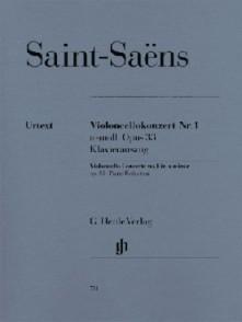 SAINT-SAENS C. CONCERTO N°1 OP 33 VIOLONCELLE