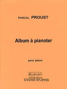 PROUST P. ALBUM A PIANOTER PIANO