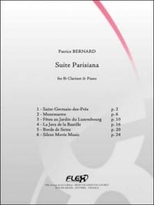 BERNARD P. SUITE PARISIANA CLARINETTE