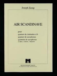 ZEMP J. AIR SCANDINAVE 4 CLARINETTES