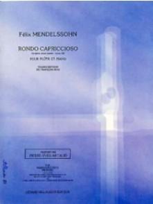 MENDELSSOHN F. RONDO CAPRICCIOSO FLUTE