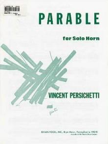 PERSICHETTI V. PARABLE COR SOLO