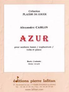 CARLIN A. AZUR TUBA OU EUPHONIUM OU SAXHORN