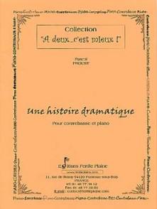 PROUST P. UNE HISTOIRE DRAMATIQUE CONTREBASSE
