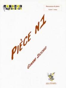 SICCHIO G. PIECE N°1 PERCUSSION