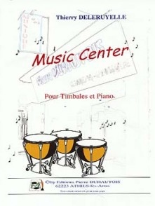 DELERUYELLE T. MUSIC CENTER TIMBALES